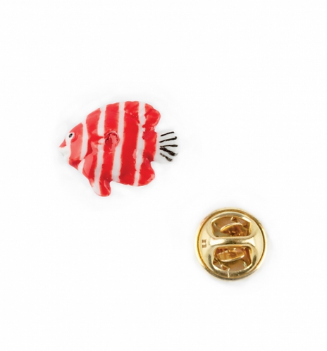 Pin Peixe vermelho