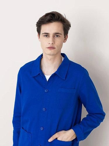 Casaco de Trabalho, masculino, azul vívido