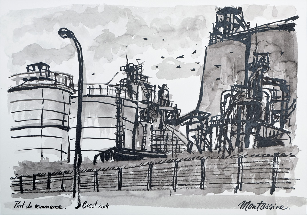 """Port de Commerce"" Brest"