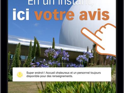 La satisfaction des visiteurs passe au digital à la Cité des Télécoms