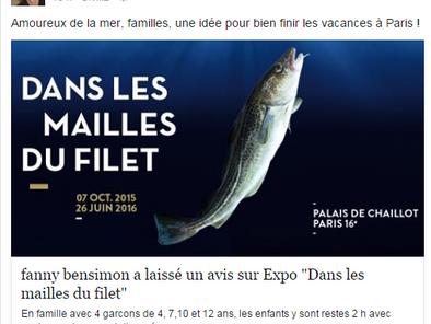 Le livre d'or digital du Musée de la Marine fait rayonner les avis des visiteurs.