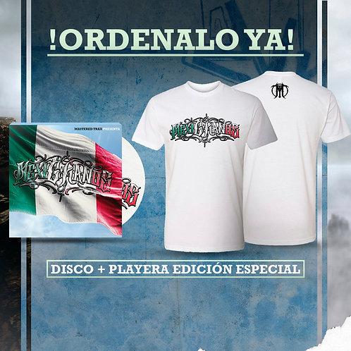 MexiCkanos Package #1- Disco + Playera
