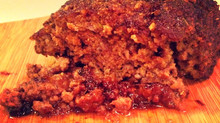 Honey BBQ Meatloaf w/ Homemade RMR Bread Crumbs!
