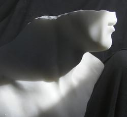 Marble head fragment, Olympian
