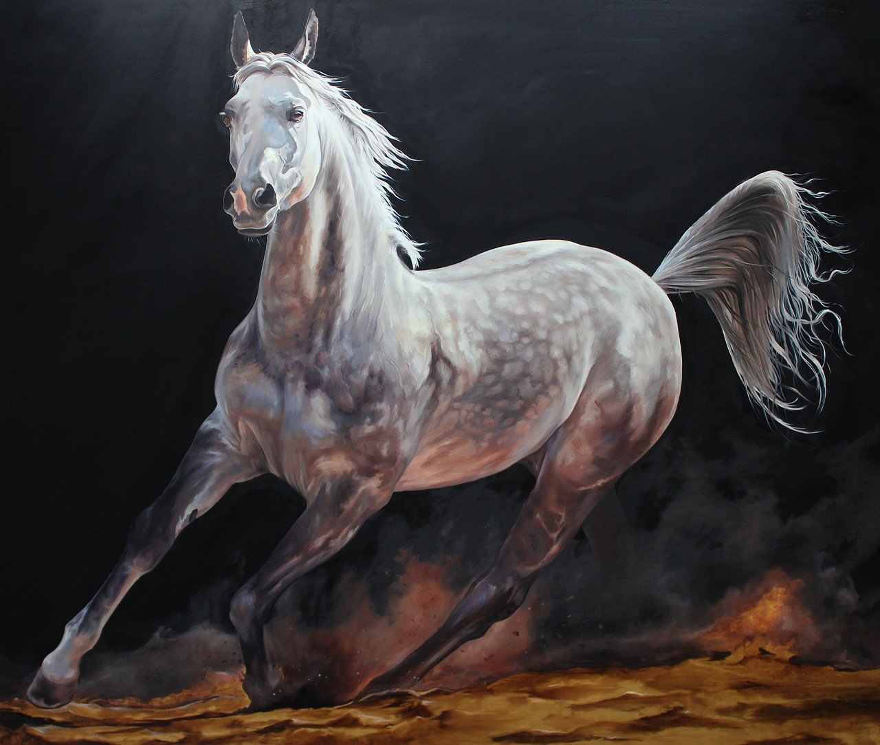 Golden Sand Stallion