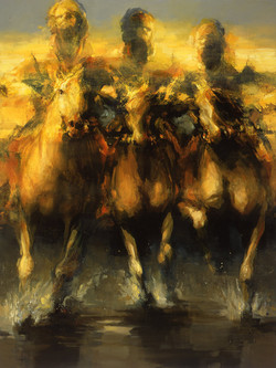 Encuentro II (triptych)