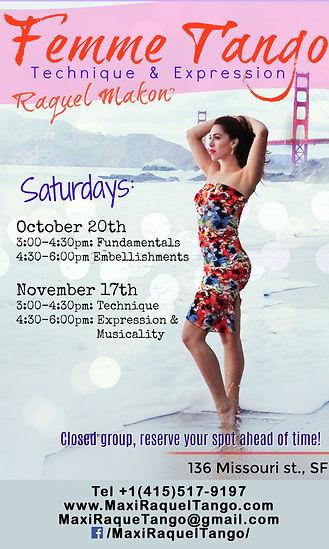 Raquel Makow Tango Femme Tango San Francisco