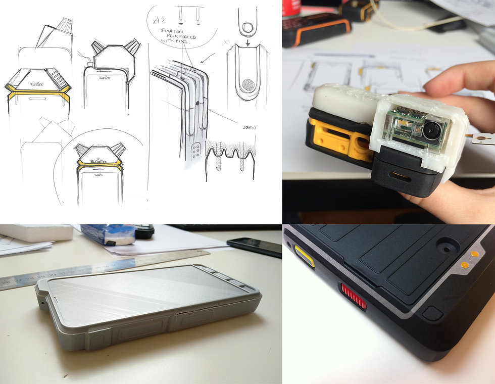 rugged-mobile-phone development prototyping