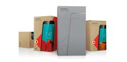 packaging design for vodafone by studiomem