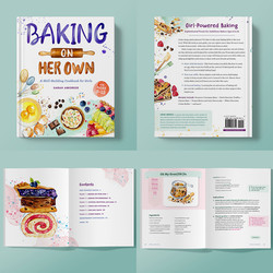 BAKING ON HER OWN