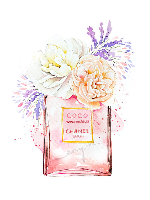Perfume collections – Limited edition fine art prints