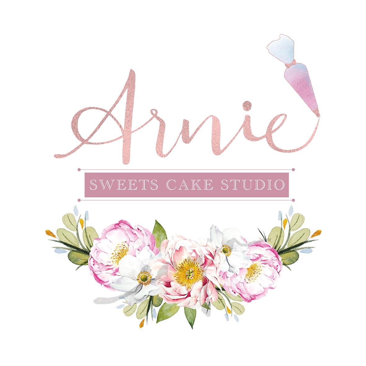 Annie sweets cake studio logo