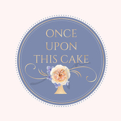 Once upon this cake logo