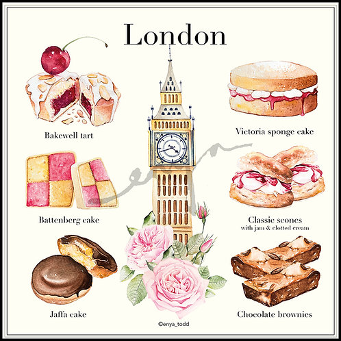 Patisserie around the world – London