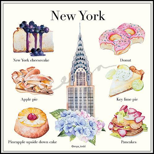 Patisserie around the world – New York