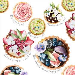 Fruits tarts