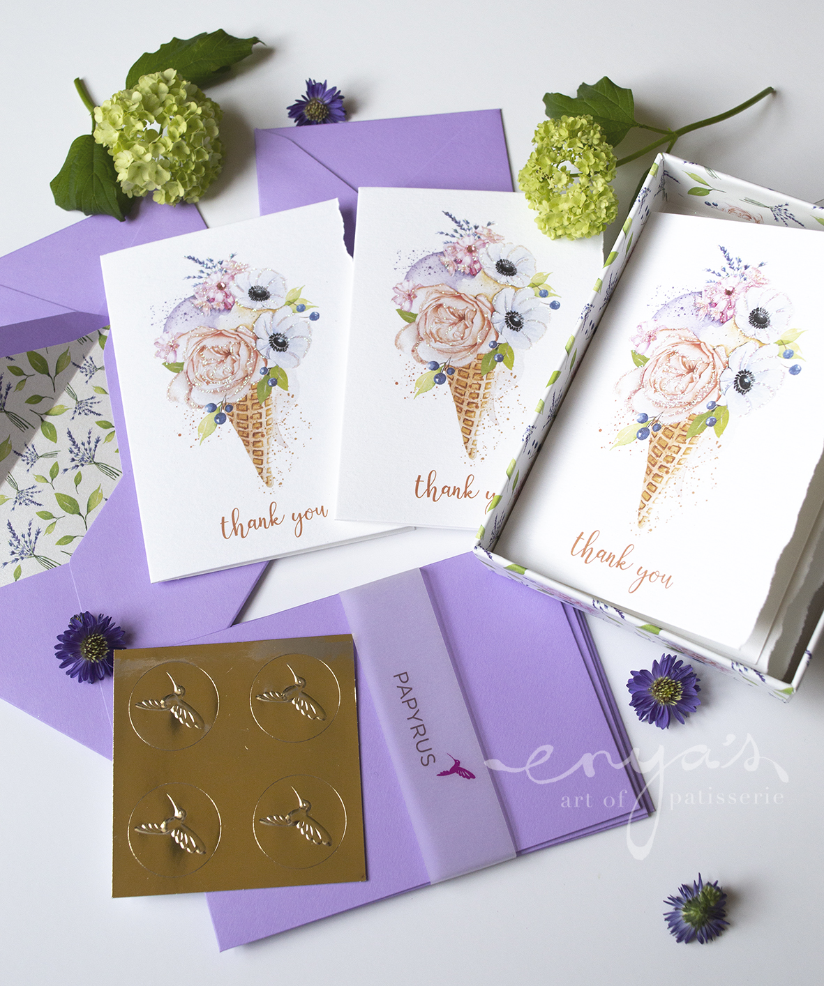 Papyrus – Thank You Card