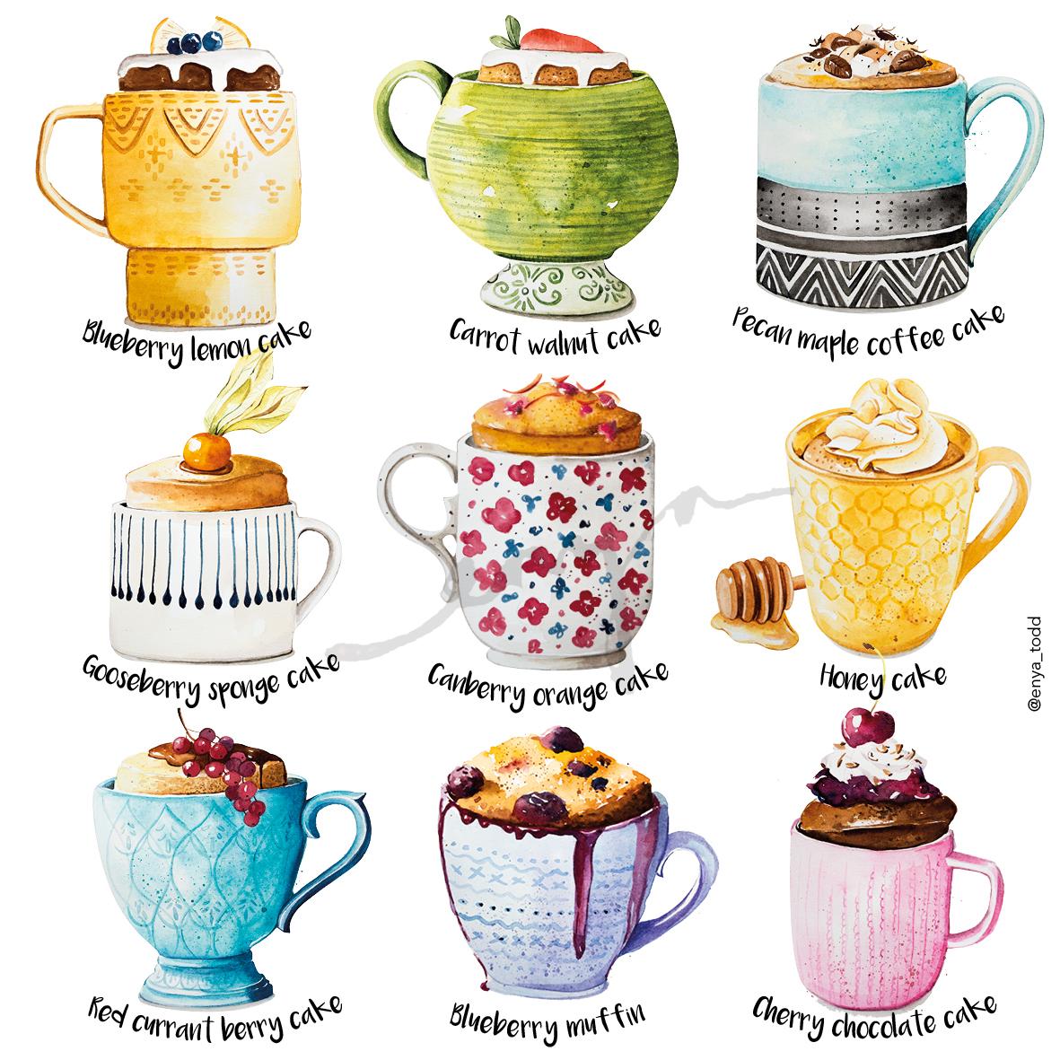 The_Mug_cakes
