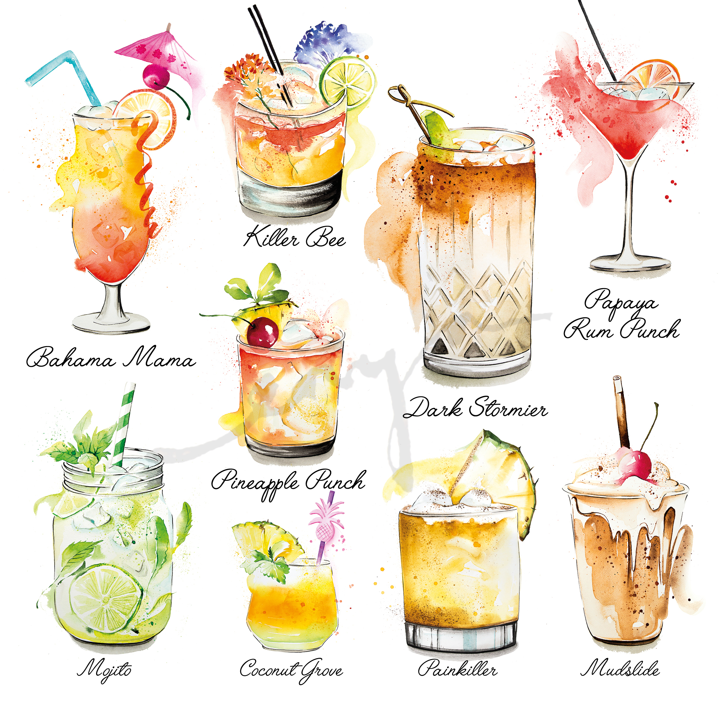 Cocktails British Airways magazine