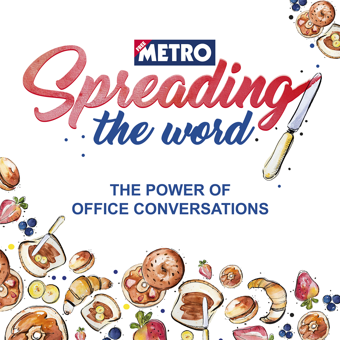 Metro Direct mail campaign