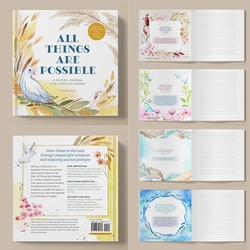 All Things Are Possible: A Guided Journal for Christian Women with Inspiring Bible Verses