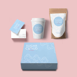 Sugar Cloud Cakes_Branding design