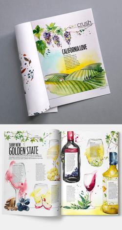 Wine Enthusiast Magazine editorial