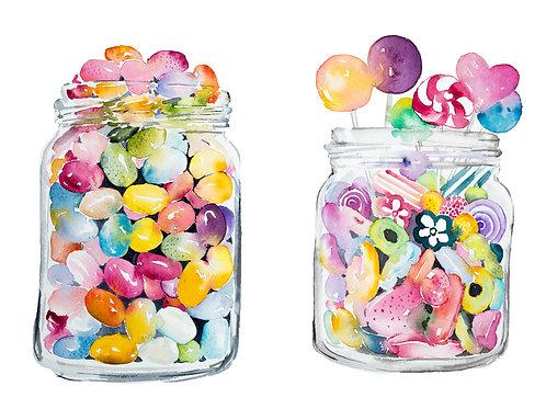 An original painting – Candy Bar