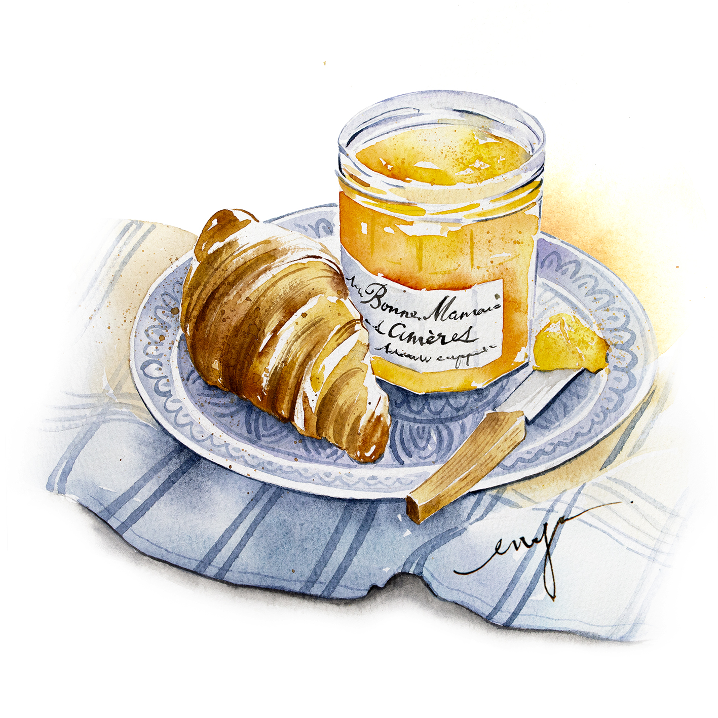 Croissant_breakfast