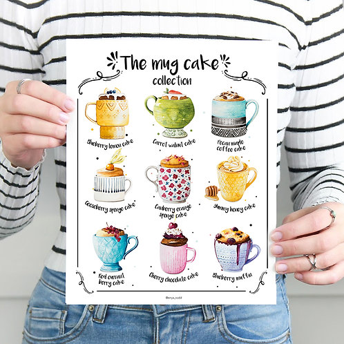 The mug cake collection – Limited edition fine art prints