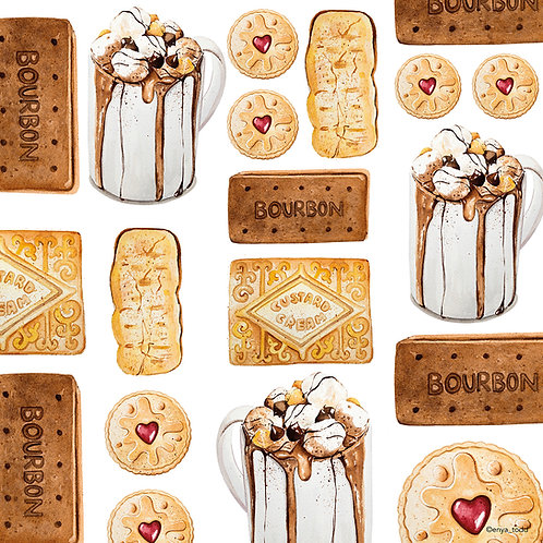 Biscuits – Limited edition fine art prints