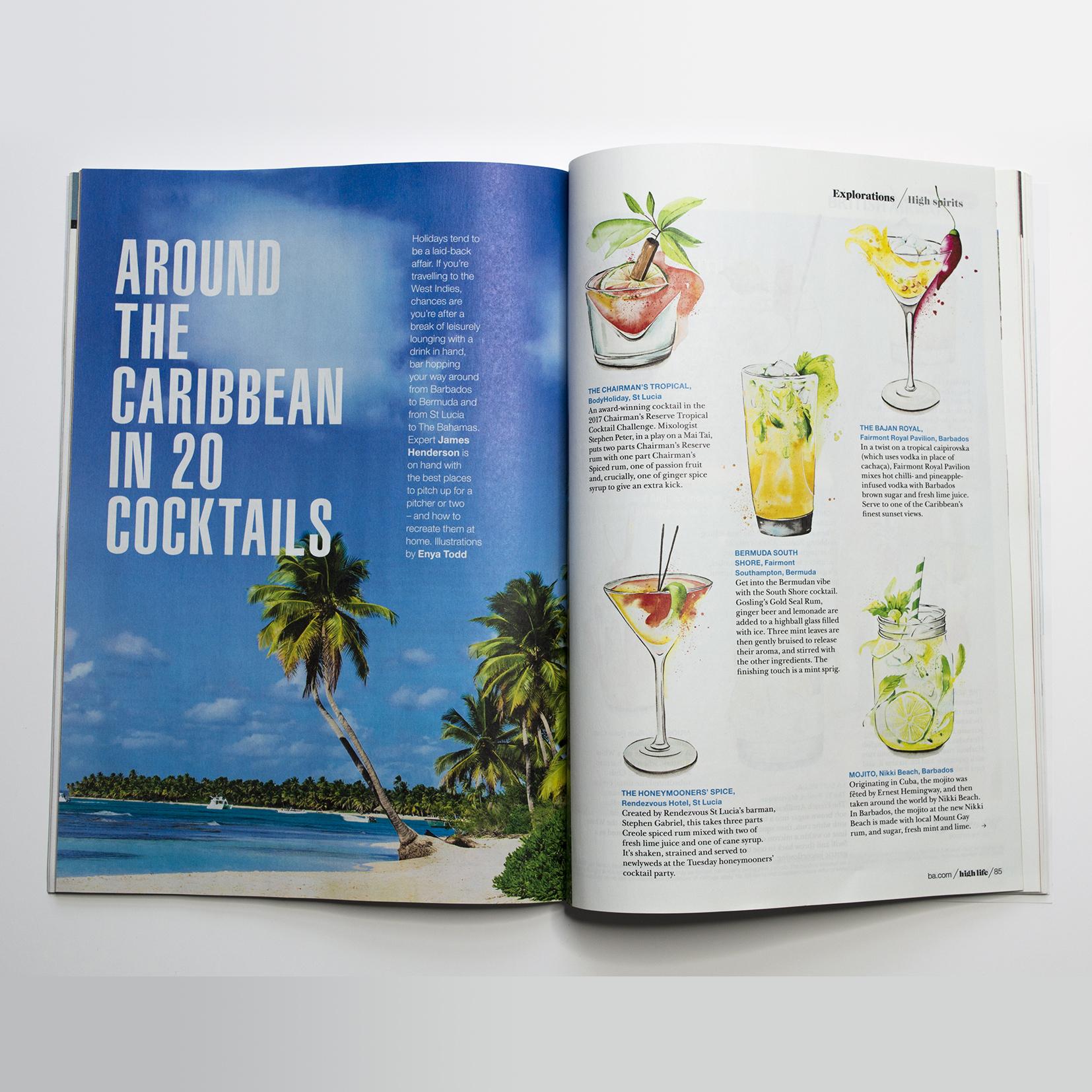British Airways Inflight Magazine