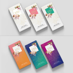 N & C – packaging design mock up
