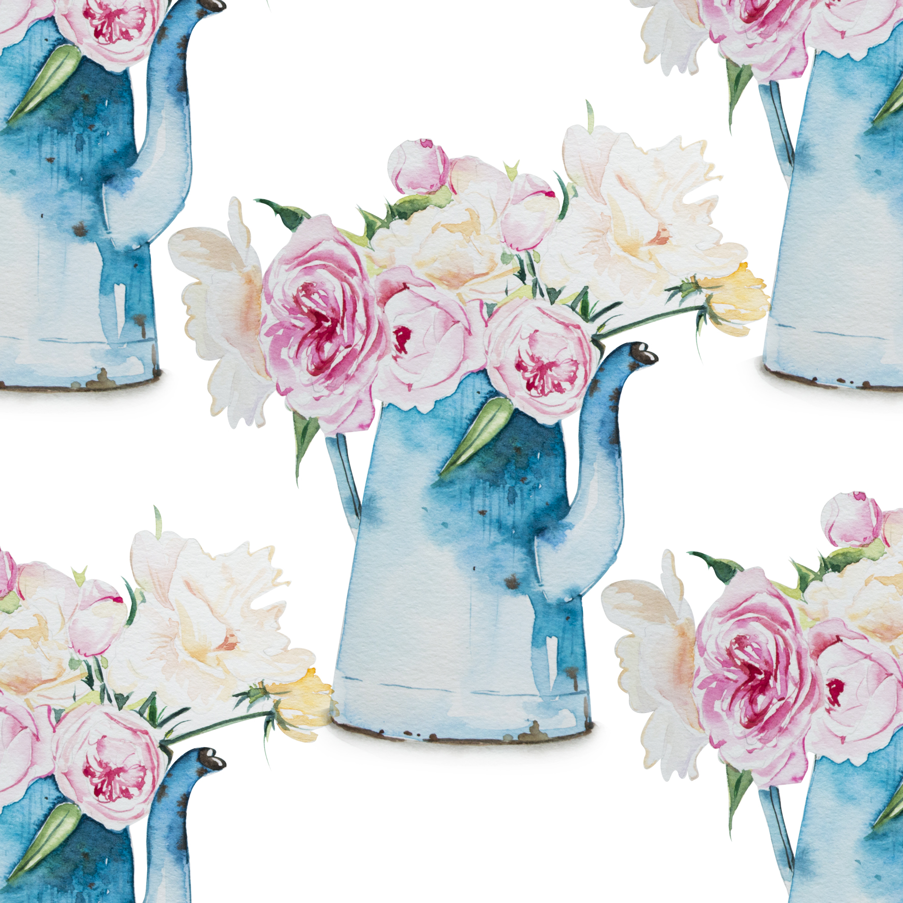 Spring flower pot -5