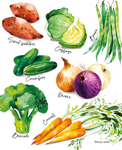 The humble vegetable