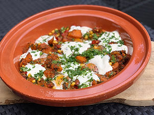 Spiced-butternut-squash-hash-with-baked-