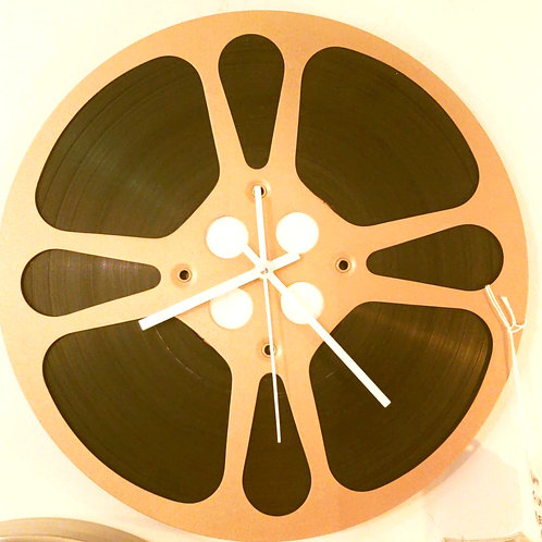 Film Reel Clock
