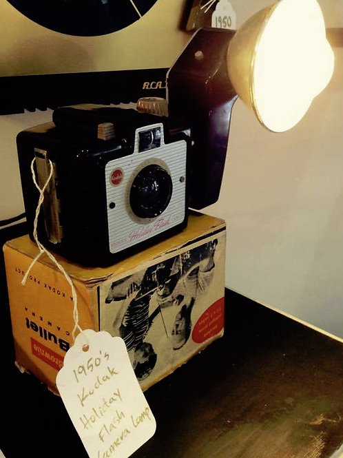 1950s Kodak Holiday Flash Camera Lamp