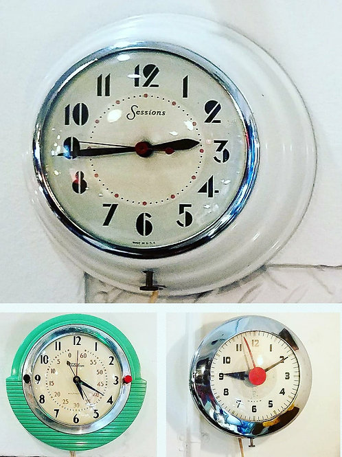 Choice of Electric Kitchen Clock