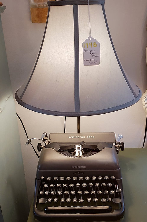1948 Remington Rand DeLuxe Typewriter Lamp