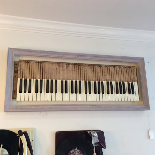 Early 1920s Organ Keys Wall Art