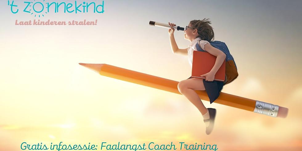 Gratis informatiesessie Faalangst Coach Training