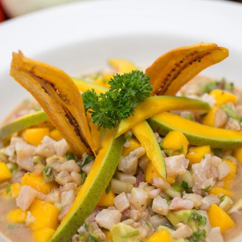 Ceviche Mango Dorado