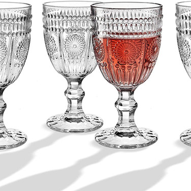 Clear Water Goblets