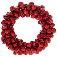 Napkin Ring - Red bells