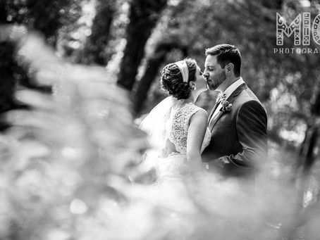 Lyndsey + Robert: Urban Metallic Flair