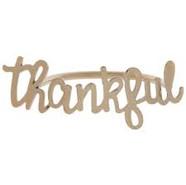 Napkin Ring - thankful