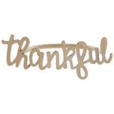 Napkin Ring - thankful