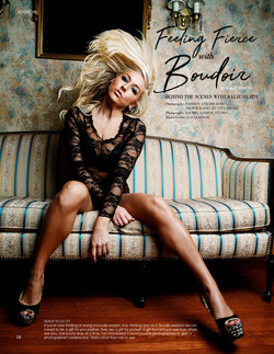 Styled Boudoir Editorial