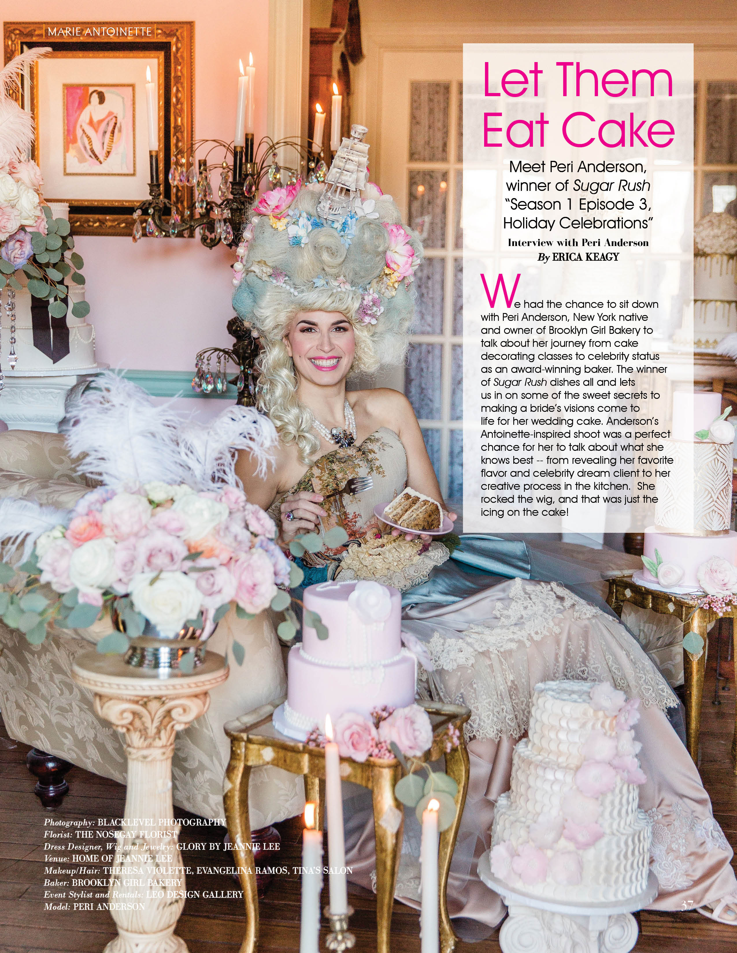 Marie Antoinette Editorial